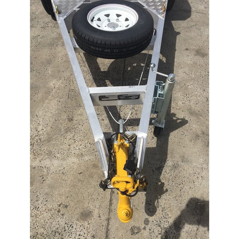 Auswide Spare Wheel & Bracket - Small Trailers - AusWide - Ramp Champ
