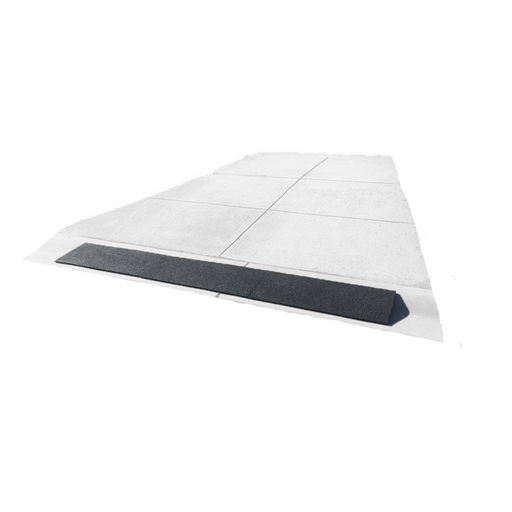 Heeve Driveway Rubber Kerb Ramp in 1m Sections for Rolled-Edge Kerb - Heeve - Ramp Champ