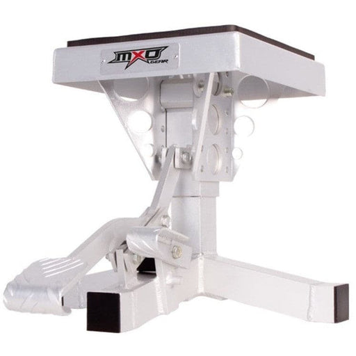 MXO Aluminium Motorcycle Stand with Foot Pump, 135kg Capacity - MXO - Ramp Champ