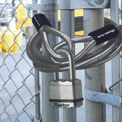 Master Lock Braided Steel Cable with Loop Ends