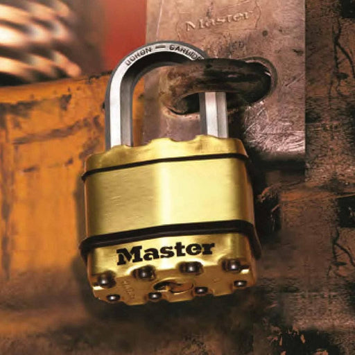 Master Lock Excell 50mm Padlock - Master Lock - Ramp Champ