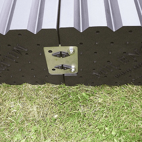 Milenco Joining Plate to Suit Quattro and Triple Caravan Levelling Ramps - Milenco - Ramp Champ