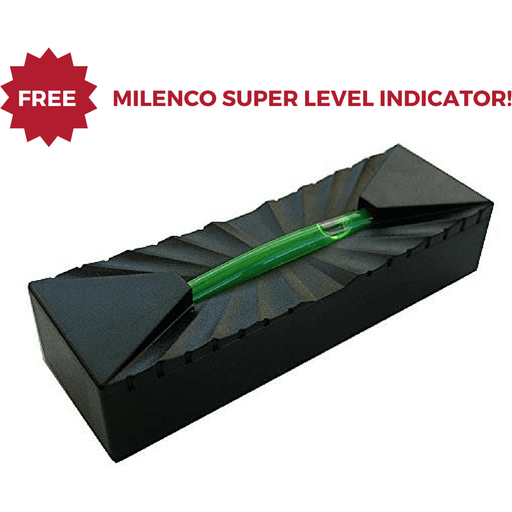 Milenco Quattro Level 4 Tier Caravan Levelling Ramps + Level Indicator - Milenco - Ramp Champ