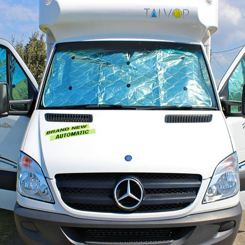 Milenco Universal Internal & External Vehicle Thermal Blind, Silver - Milenco - Ramp Champ