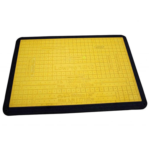 Oxford Plastics LowPro 15/10 Lightweight Plastic Trench Cover - Oxford Plastics - Construction Champ