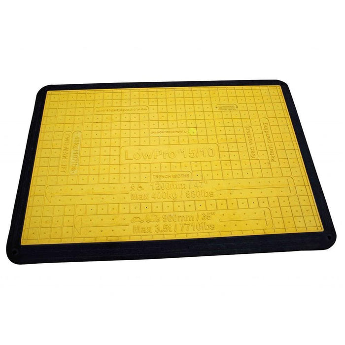 Oxford Plastics LowPro 15/10 Lightweight Plastic Trench Cover - Open Box - Oxford Plastics - Ramp Champ