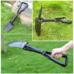 (FREE GIFT) Folding Shovel Survival Multi Tool