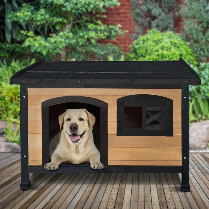 i.Pet Large Wooden Pet Kennel - Ramp Champ - Ramp Champ