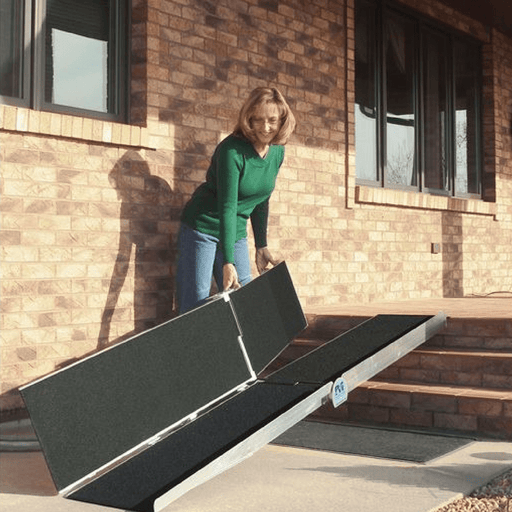 PVI Aluminium Multi-Fold Wheelchair Ramp, 220kg & 360kg Capacities - PVI - Ramp Champ