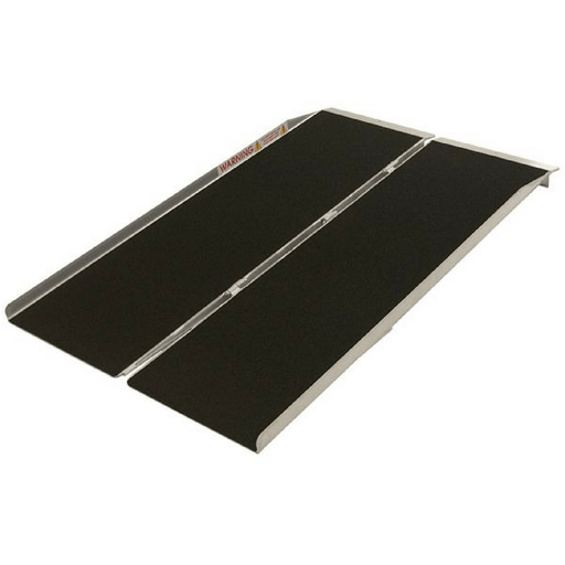 PVI Aluminium Single Fold Threshold Ramp, 360kg Capacity - PVI - Ramp Champ