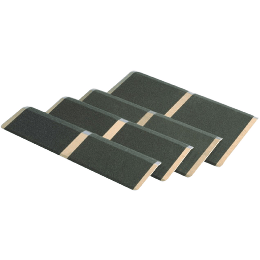 PVI Aluminium Solid Threshold Ramp, 270kg Capacity - PVI - Ramp Champ