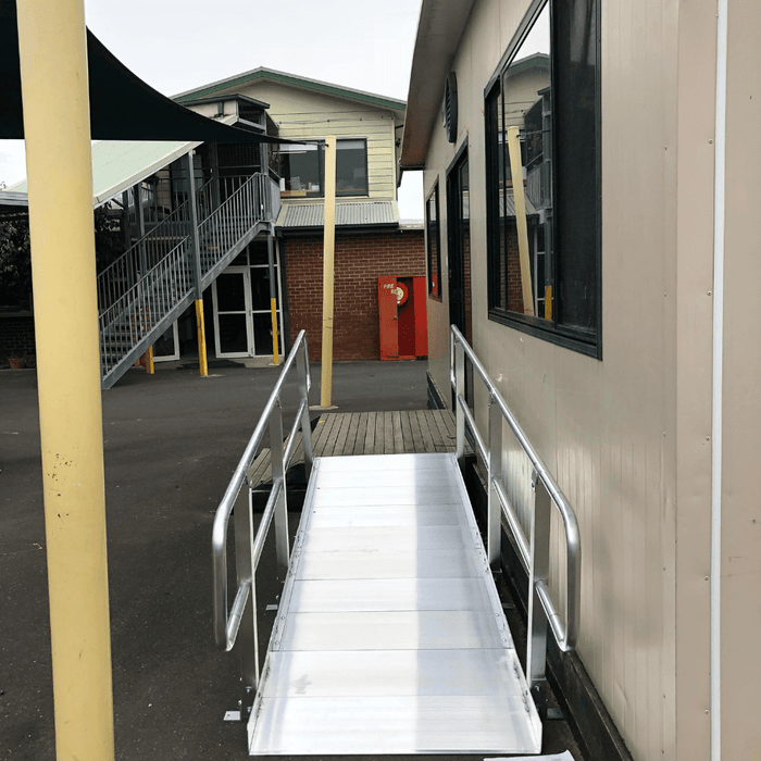PVI OnTrac Wheelchair Access Ramp with Handrails, 385kg Capacity
