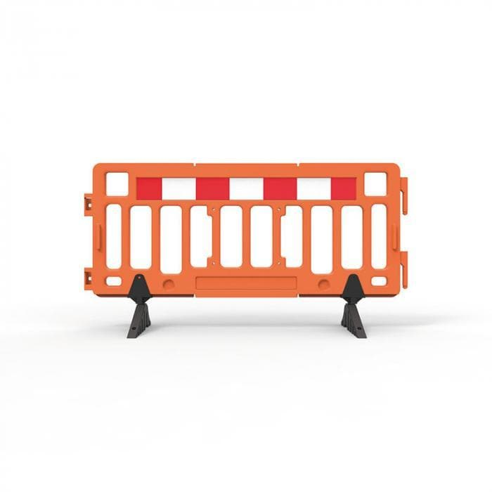 Barrier Group Portable Plastic Fence Barrier - Barrier Group - Ramp Champ