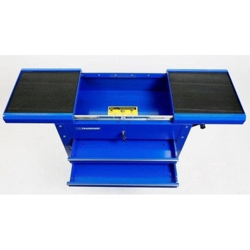 TradeQuip Workshop Tool Trolley 2 Drawer Lockable Sliding Top - TradeQuip - Ramp Champ