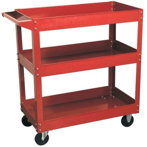 Red Label Economy Workshop Trolley 3 Tool Trays