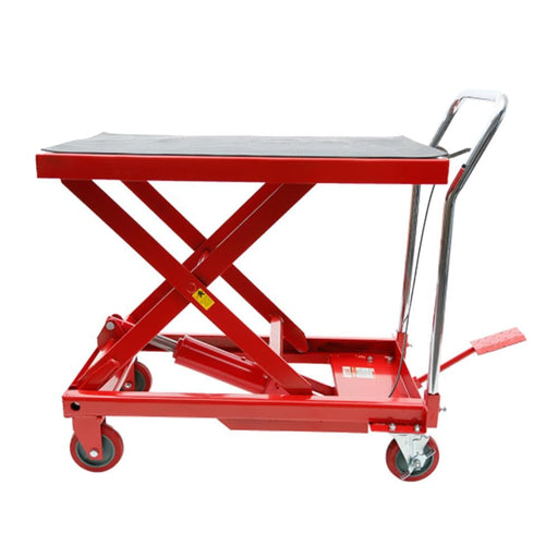 Red Label Economy Hydraulic Scissor Lift Workshop Trolley