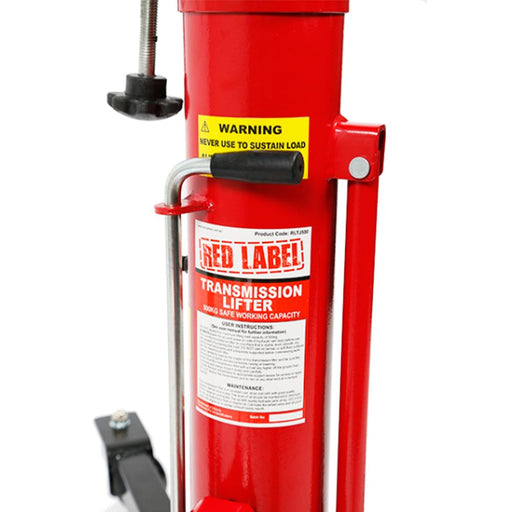 Red Label Economy Telescopic Transmission Lifter, 500Kg - Red Label Economy - Ramp Champ