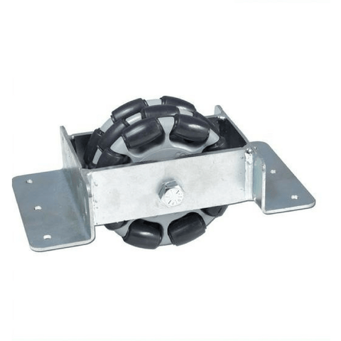 Rotacaster Pallet Wheel Mount with R3 125mm Rotacaster - Rotacaster - Ramp Champ