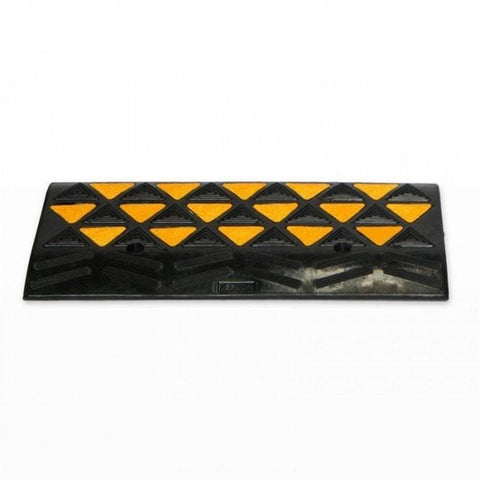 Barrier Group High-Vis Rubber Kerb Ramp Center Module - Barrier Group - Ramp Champ