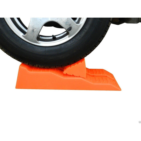 Supex Single Axle Caravan Levelling Ramps, with Chocks and Carry Bag, Pair - Supex - Ramp Champ