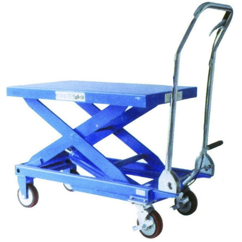 TradeQuip Hydraulic Scissor Lift Workshop Trolley - TradeQuip - Ramp Champ