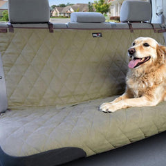 Solvit Deluxe Pet Bench Seat Cover For Cars