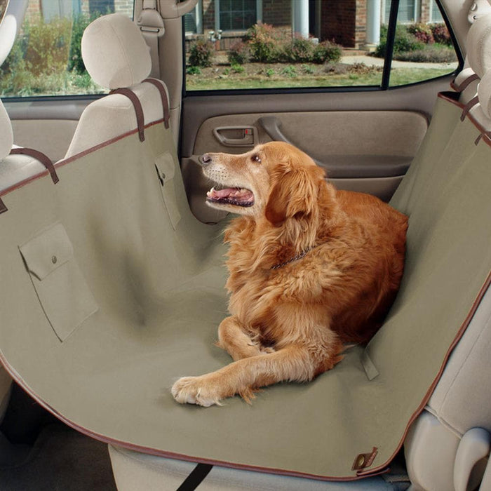 Solvit Waterproof Hammock-Style Pet Seat Cover For Cars