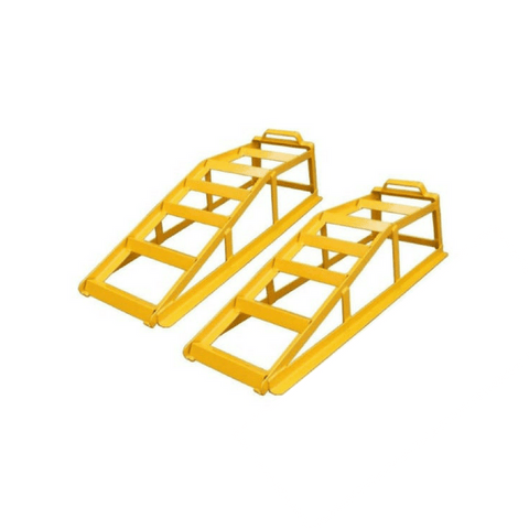 Stanfred 1.7 Tonne Car Service Ramps with Bonus Ramp Grips