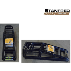Stanfred 1.5 Tonne Car Service Ramps with Bonus Ramp Grips