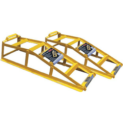 Image of Stanfred 1.7 Tonne Car Service Ramps with Bonus Ramp Grips