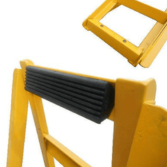 Image of Stanfred Rubber Grips to Suit 750kg & 850kg Car Service Ramps, Pair