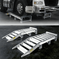 Sureweld Truck Wheel Riser Ramps For Dual Axle Rear Wheels