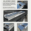 Image of Sureweld 450kg Mower Series Curved Foldable Aluminium Loading Ramps, Pair - Sureweld - Ramp Champ