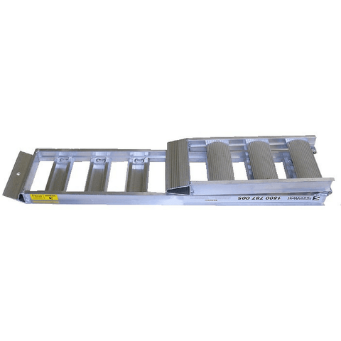 Sureweld 450kg ATV Series Foldable Aluminium Loading Ramps, Pair - Sureweld - Ramp Champ