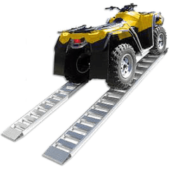 Sureweld 2.1m x 450kg Foldable Aluminium Loading Ramps, Pair