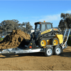 Image of Sureweld 2-Tonne Aluminium Mini-Loader Plant Trailer - 1.64t Capacity - Sureweld - Ramp Champ