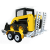Image of Sureweld 2.4-Tonne Aluminium Mini-Loader Plant Trailer - 2t Capacity - Sureweld - Ramp Champ