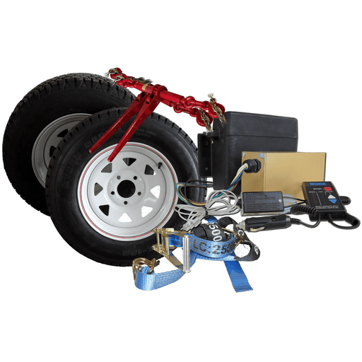 "Spare Wheel & Tyre, 13"" Steel - Sureweld - Ramp Champ"