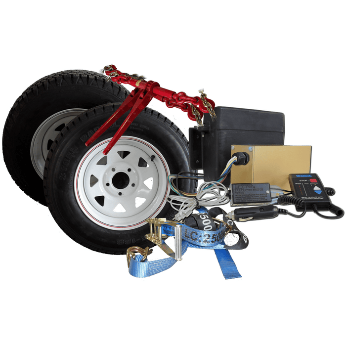 "Spare Wheel & Tyre, 16"" Steel - Sureweld - Ramp Champ"