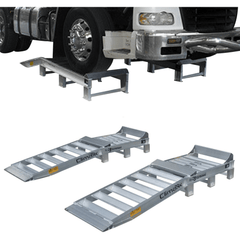 Sureweld 2.2m x 750mm Aluminium Truck Ramps, Pair - Sureweld - Ramp Champ