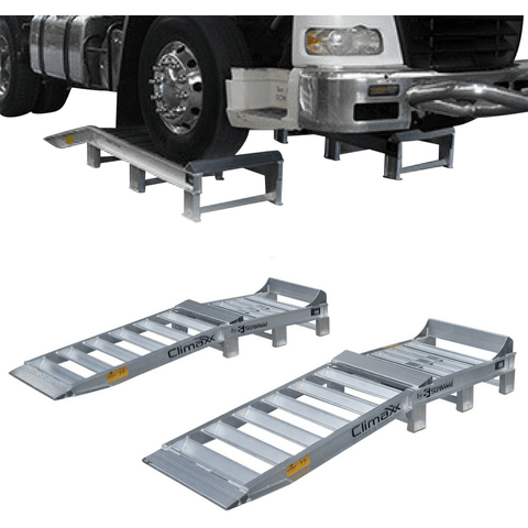 Sureweld 2.2m x 600mm Aluminium Truck Ramps, Pair - Sureweld - Ramp Champ