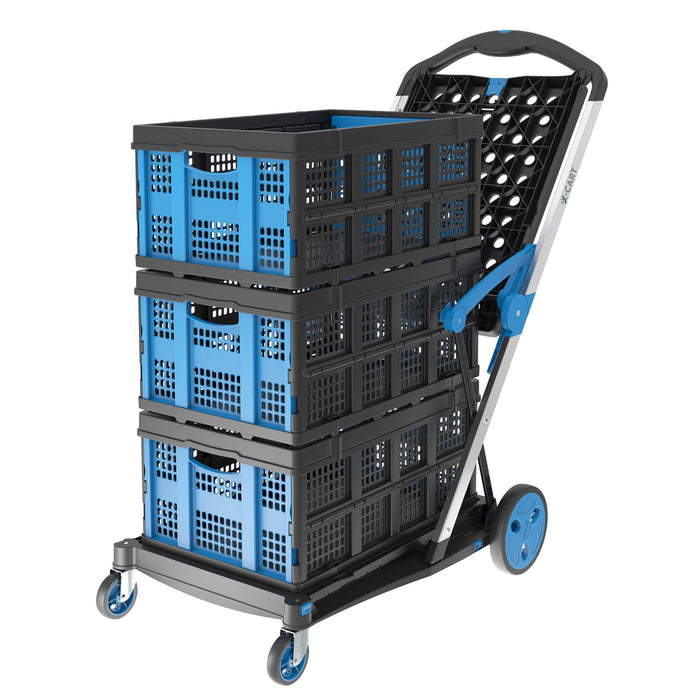 Troden Extra Basket to suit X-Cart Folding Office & Workplace Trolley - Troden - Ramp Champ