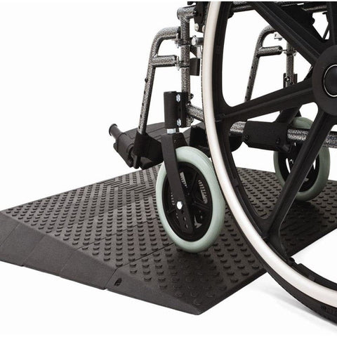 Pride Mobility Rubber Threshold Ramp, 385.5kg Capacity - Pride Mobility - Ramp Champ