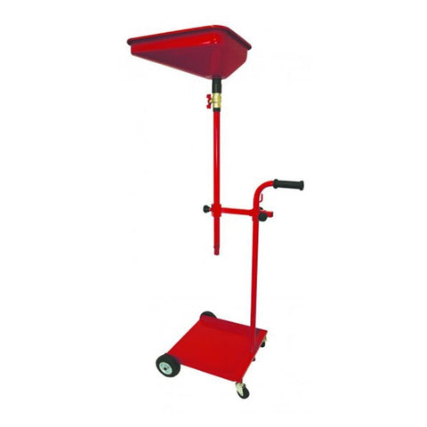 TradeQuip 13 Litre Mobile Oil Drainer with Trolley on Wheels