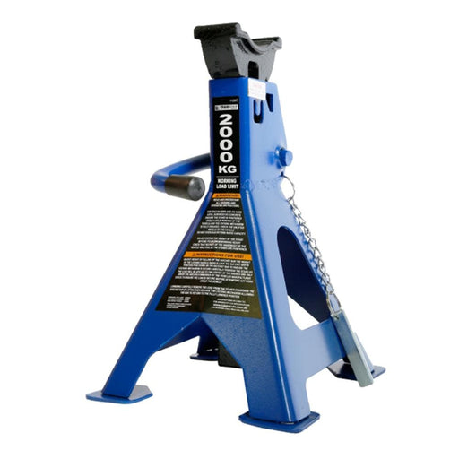 TradeQuip 2,000kg Heavy Duty Steel Jack Stands - TradeQuip - Ramp Champ