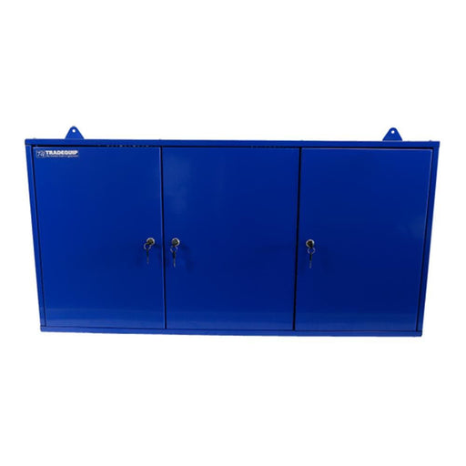 TradeQuip 3-Door Steel Wall Mounted Tool Cabinet - TradeQuip - Ramp Champ