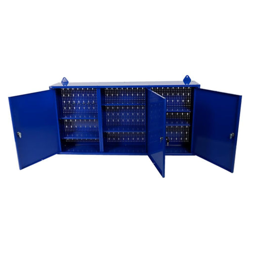 TradeQuip 3-Door Steel Wall Mounted Tool Cabinet