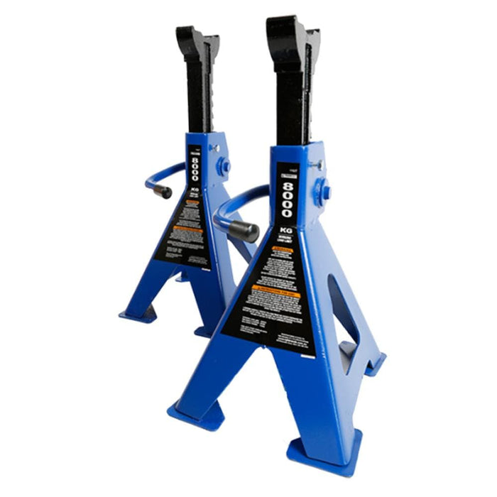 TradeQuip 8,000kg Heavy Duty Steel Jack Stands - TradeQuip - Ramp Champ