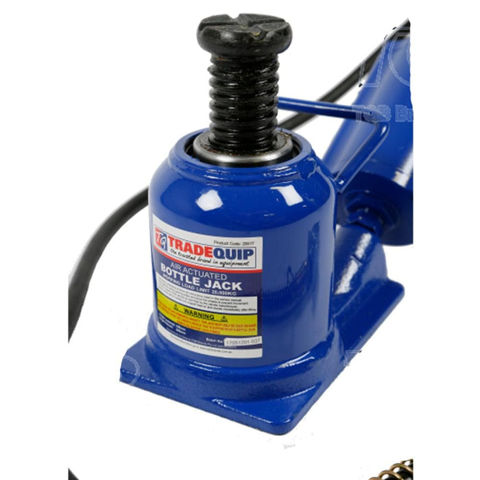 TradeQuip Bottle Jack Squat Air Hydraulic, 20 Tonne