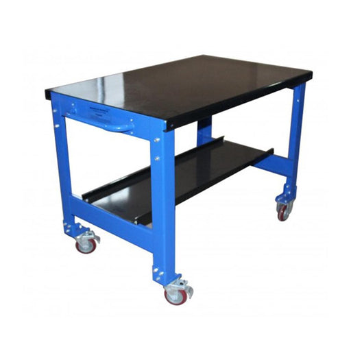 TradeQuip Heavy-Duty Enamelled Steel Portable Workbench - Tradequip - Ramp Champ